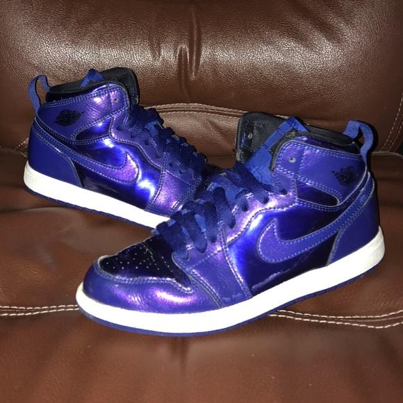 tania wyprzedaż usa nowy haj Data wydania: Jordan Retro 1 High Deep Royal Anti Gravity shoes